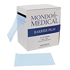 MonMed Barrier Film Blue and Film Box Di...