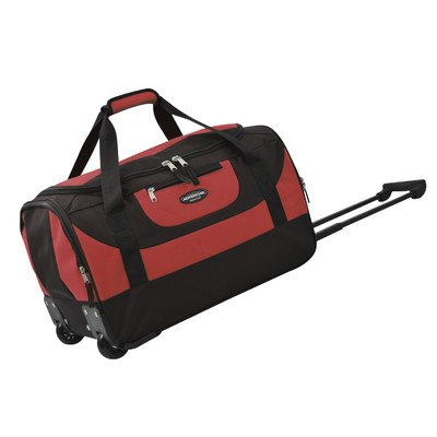 travelers-club-luggage-adventure-20-inch-multi-pocket-sports-rolling-duffel-red-one-size