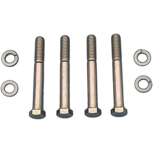 Eckler's Premier Quality Products 25-114807 Corvette Rear Spring Center Mounting Plate Bolts & (Corvette Rear Spring)