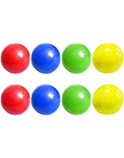 Yuffoo Roof Ball, Sticky Ball Toy Squeeze Stress Sticky Balls Fluorescent Color Sticky Globbles Ball Tretch Stress Balls ,for Adults Kids Stress Relief Fun Wall Balls 8 pcs