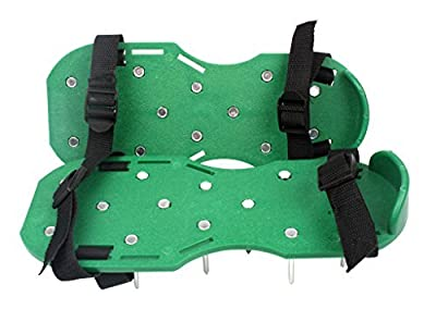Garkit Lawn Aerator Sandals (green) Color: green, Model: , Home & Outdoor Store