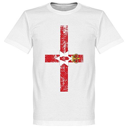 Nordirland Fahne T-Shirt - weiß