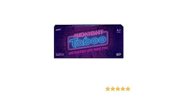 Hasbro Midnight Taboo Juego: Amazon.es: Juguetes y juegos