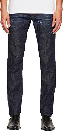 Dsquared2 Men Pants (DSQUARED2 Men's Nothing Slim Jeans in Blue Blue 52 34)