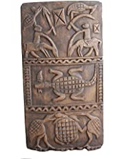 34'' Africa Wood Carved Panel Window Shutter Mali Vintage Dogon Granary House Door Shutter Big Wall Decor C0610