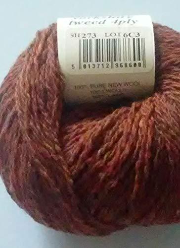 Rowan Yarns Yorkshire Tweed 4ply 25g Color 273 -