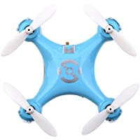 Cheerson CX-10 Mini Drone 2.4G 6-Axis Gyro RC Quadcopter Toys for Kids(Blue)