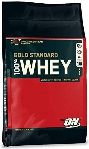 Optimum Nutrition Gold Standard whey 4.5kg CHOCOLATE: Amazon ...
