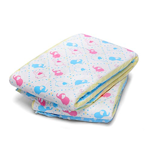 LittleForBig Printed Adult Brief Diapers Adult Baby Diaper Lover ABDL 2 Pieces - Little Trunks(M)