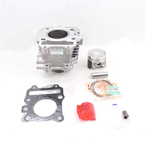 Motorcycle Cylinder Piston Ring Gasket Kit for Haojue Suzuki VECSTAR 125 AN125 HS125T AN HS 125 125 cc Engine Spare - Cylinder 55w