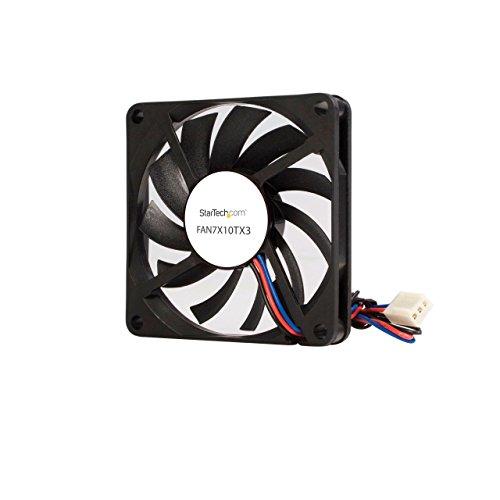 - StarTech.com Replacement 70mm TX3 Dual Ball Bearing CPU Cooler Fan - 3 pin case Fan - TX3 Fan - 70mm Fan (FAN7X10TX3)