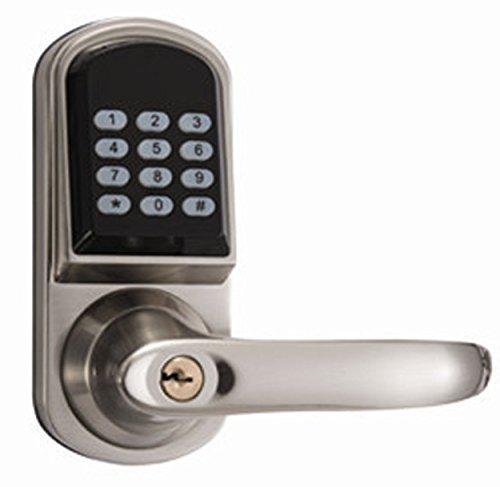 Sicherheit Wireless elektronische Sperre mit Tastatur + Key + Karte Einfache betrieben elektrische Fernbedienung Türschloss