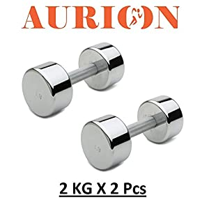 Aurion Dumbbell Set for home India 2020