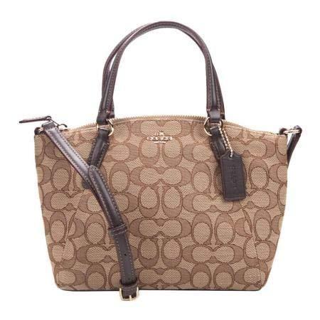Coach Signature Mini Kelsey Satchel Crossbody Bag