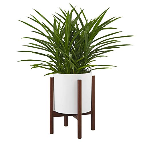 FaithLand Metal Plant Stand, Mid Century Planter Stand, Weather Resistant Potted Plant Holder, Pot Trivet(Planter Not Included)