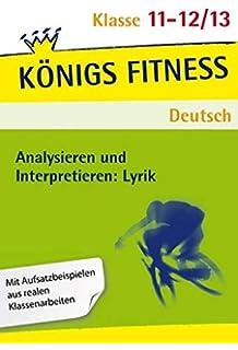 Duden Abiwissen Deutsch Lyrik Und Gedichtinterpretation Frank