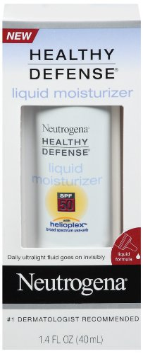Neutrogena Healthy Defense Daily Liquid Moisturizer with Helioplex, 1.4 Ounces
