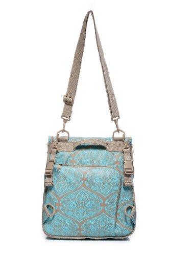 Momymoo Maia - Bolso cambiador, color turquesa