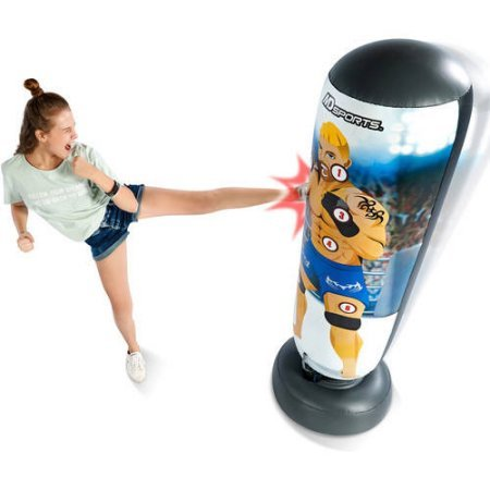 Karate Chop ANd Kickbox Your Way To Fitness With This Fun MD Sports Lights Out Kickboxing Game with 3 Electronic Game Options - PERFECT GIFT FOR KIDS AND ADULTS by Generic