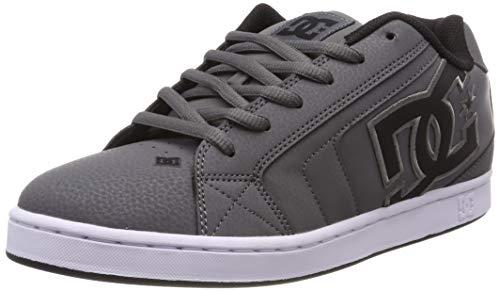Shoes Para Hombre Xsks Zapatillas Skateboard grey Net Dc black De grey Gris RXwHqAndx