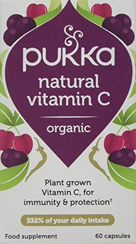 Pukka Herbs Natural Vitamin C, Organic Herbal Supplement