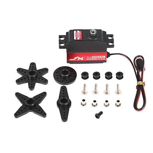 (JX PDI-2535MG 25g Digital Metal Gear Coreless Gyro Tail Servo for RC Airplane)