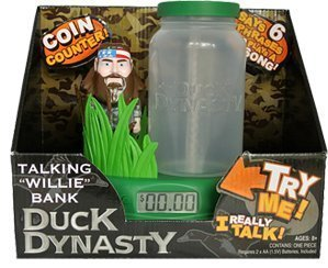 A&e Duck Dynasty Talking Bank (Willie)]()