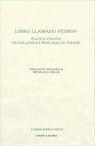 Libro llamado Fedrón: Plato's 'Phaedo' translated by Pero