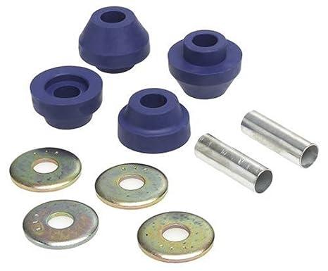 Pro Braking PBR8006-SIL-BLU Rear Braided Brake Line Silver Hose /& Stainless Blue Banjos