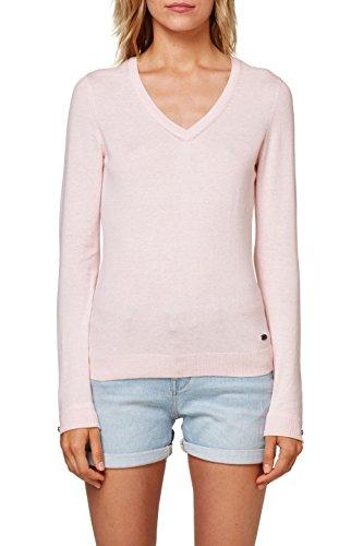 edc by Esprit, Pull Femme Rose (Light Pink 690)