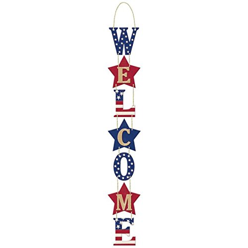 Amscan Americana Welcome Sign, 27