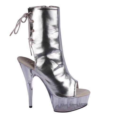 PLEASER SED420SQ/GLD- Zapato Mujer - Lentejuelas BSAVNUCVf8