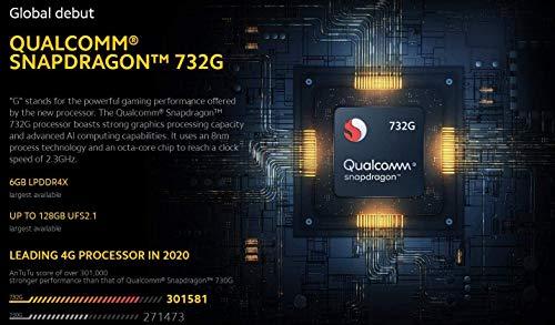 "Poco X3 NFC (Pantalla AMOLED de 6,67"" FHD+, DotDisplay, 6GB+64GB, Cámara cuádruple de 64MP, Snapdragon 732G, 5160mAh con Carga de 33W, MIUI 12 para Poco, NFC) Gris Sombra"