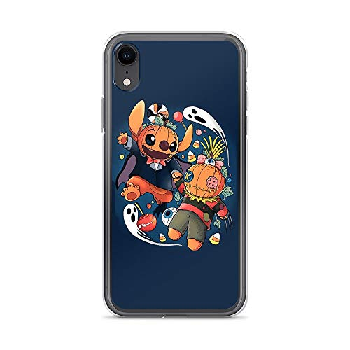 iPhone XR Pure Clear Case Cases Cover Experimental Halloween Funny Fictional Character Cartoon