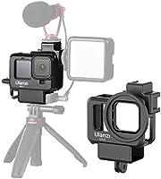 Ulanzi G9-4 Gopro Hero9 専用 保護ケース 直接充電可能 65g軽量アクションカメラ アクセサリーケース コールドシューマウントと 52mmフィルターアダプター付き Type-c充電口を用意され...