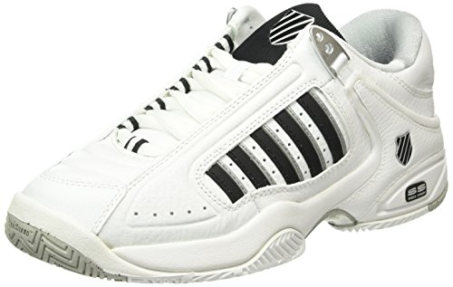 K-Swiss Defier RS Men's Tennis Shoes, White, US7 (K Swiss Defier Rs Mens Tennis Shoes)