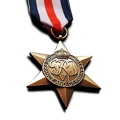 France and Germany Star Military Medal WW2 British Commonwealth Rare New Replica