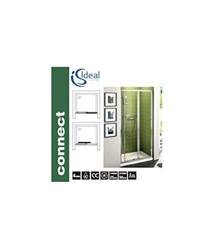 Porte Scorrevoli A 3 Ante.Ideal Standard Connect P Porta 95 Scorrevole 3 Ante Brill