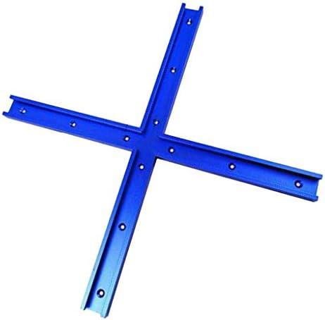 perfk 8 X Parti della Sega da Tavolo Durevoli Mitra con Connettore A T A Croce in Lega di Alluminio