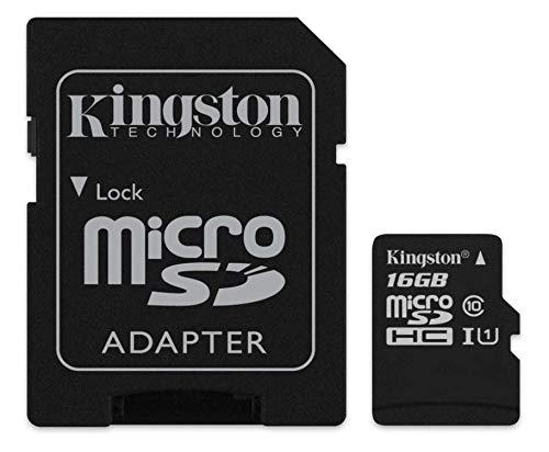 16  GB Micro SD Class 10 Memory Card by Kingston