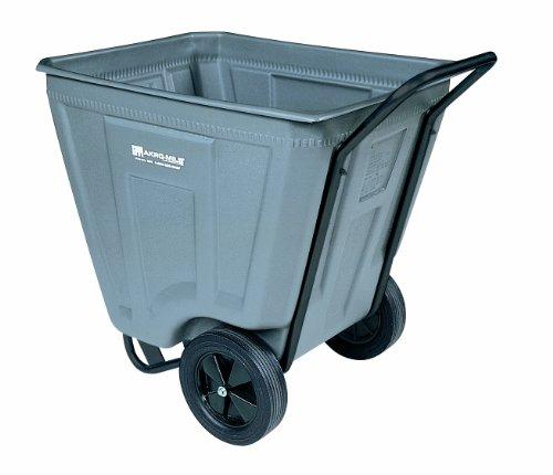 Akro-Mils 76460 30-1/2-Inch W by 48-Inch D by 33-1/2-Inch H 60 Gallon Akro-Cart Medium Duty Plastic Waste Transport Cart, (Akro Mils Poly Bins)
