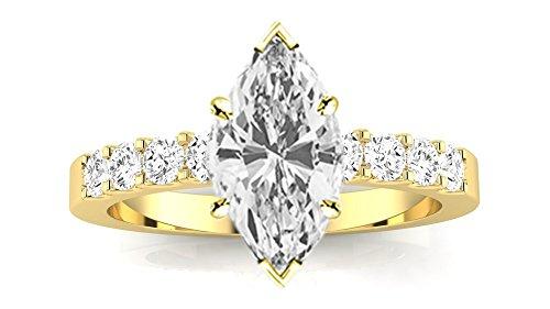 0.45 Ct Marquise Diamond - 8