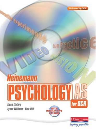 Heinemann Psychology for OCR AS Student Book with CD-ROM