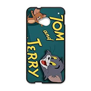 Tom and Jerry Cell Phone Case for HTC One M7