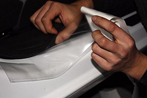 Steinschlagschutzfolie, Lackschutzfolie Oraguard 270 transparent, selbstklebend 1m x 10cm, Universell für Ladekante