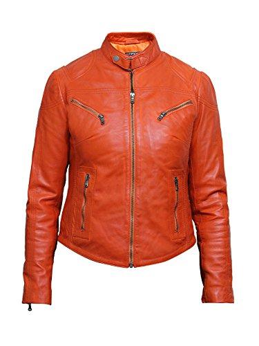 Vintage Leather Biker Jacket - 9
