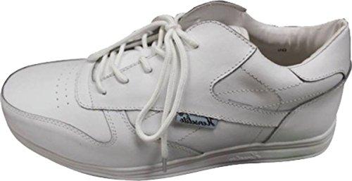 Henselite - Victory Bowls Herren Schuhe Bowling Schuhe Fußbekleidung - Weiß, 42