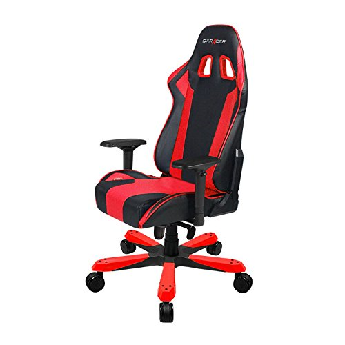 DXRacer King series OH/KS06/NR Large size Seat Office Chair Gaming Ergonomic with - Included Head and Lumbar Support Pillows - Home Nba Recliner Team