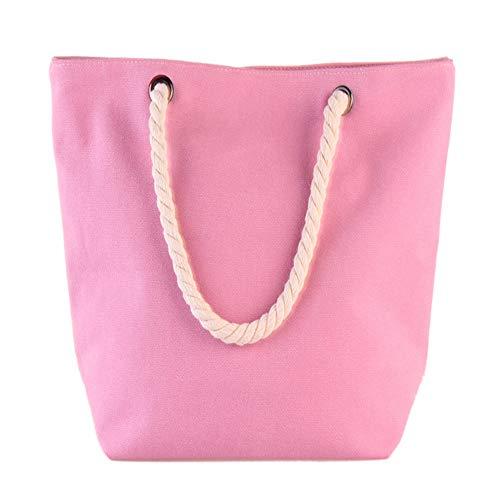 pour Femme Pink Parkour en Blanc Le Sac Main Le Nouveau Loisirs Toile Provisions À Minimaliste Sac GWQGZ Sac De Le À X1Yw7