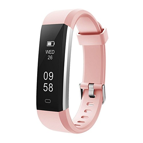 Activity Pedometer - Letsfit Fitness Tracker, Waterproof Activity Tracker with Pedometer Step Counter Watch and Sleep Monitor Calorie Counter Watch, Slim Smart Band for Kids Women Men